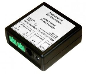 P1 smart meter reader